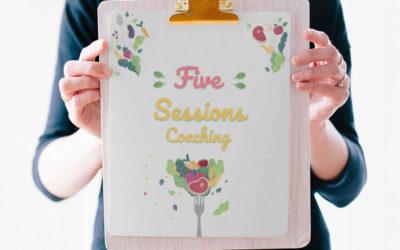5 Sesiones Coach Nutricional