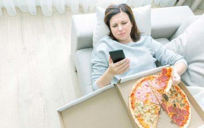 Estrés y aumento de peso